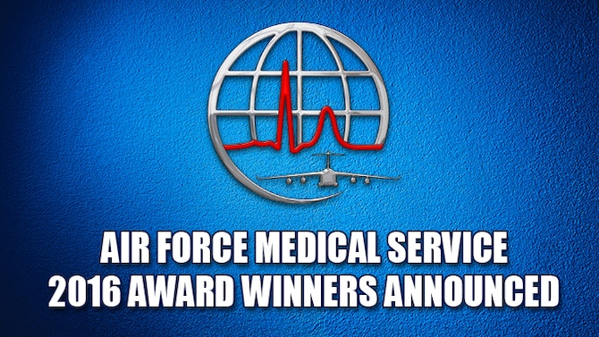 The Air Force Surgeon General has announced the recipients of the Air Force Medical Service 2016 individual and team Annual Awards.