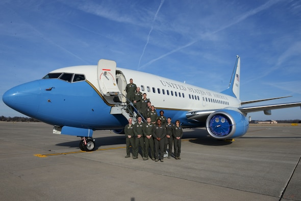 Members from the 54th Airlift Squadron and the 73d AS are responsible for flying executive airlift for the United States' key leadership and providing them with safe, comfortable and reliable transportation.  Both squadrons have integrated into one team, consisting of active duty, Air Reserve technicians, and traditional Reserve personnel. In 2016, the team traveled to 85 countries, including Israel, China and Russia.(U.S. Air Force photo by Tech. Sgt. Maria Castle)