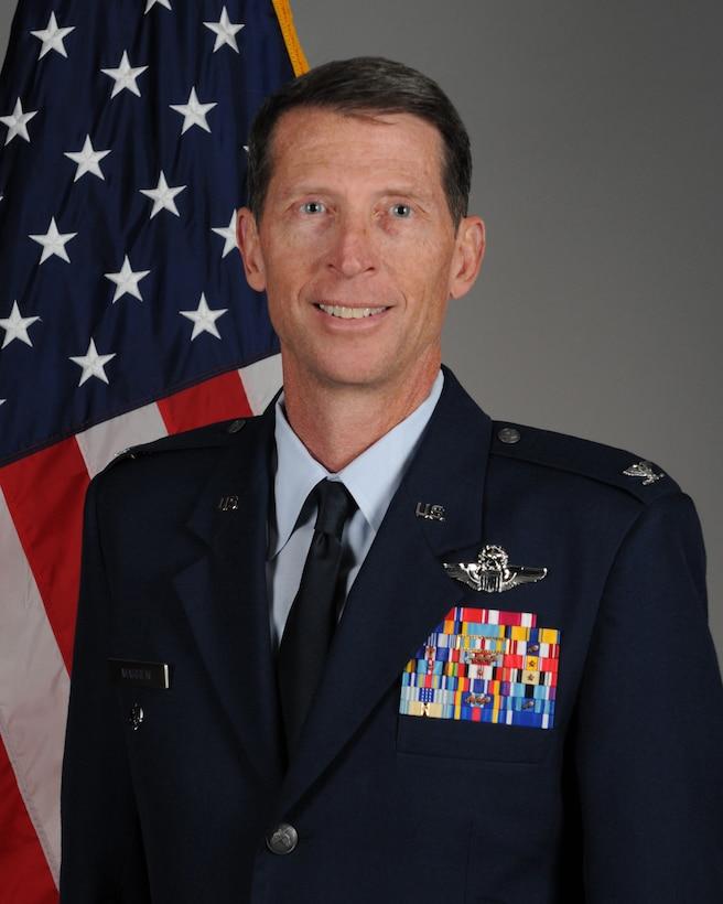 Col. James P. Marren official photo