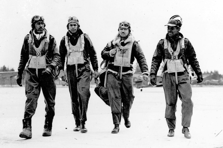 Before 1940, African Americans were not permitted to fly for the U.S. military. However, due to mounting pressure from mainstream media and efforts from civil rights organizations led to the creation of the first all African-American training squadron. Student pilots were trained into fighter pilots beginning in July 1941, at Tuskegee Army Air Field, Ala. These pilots later laid the foundation for African American Airmen for years to come. (U.S. Air Force photo)