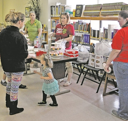 Post library throws valentine s day party with kids in Kids in mind