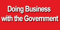 Doing Business with the Government widget graphic