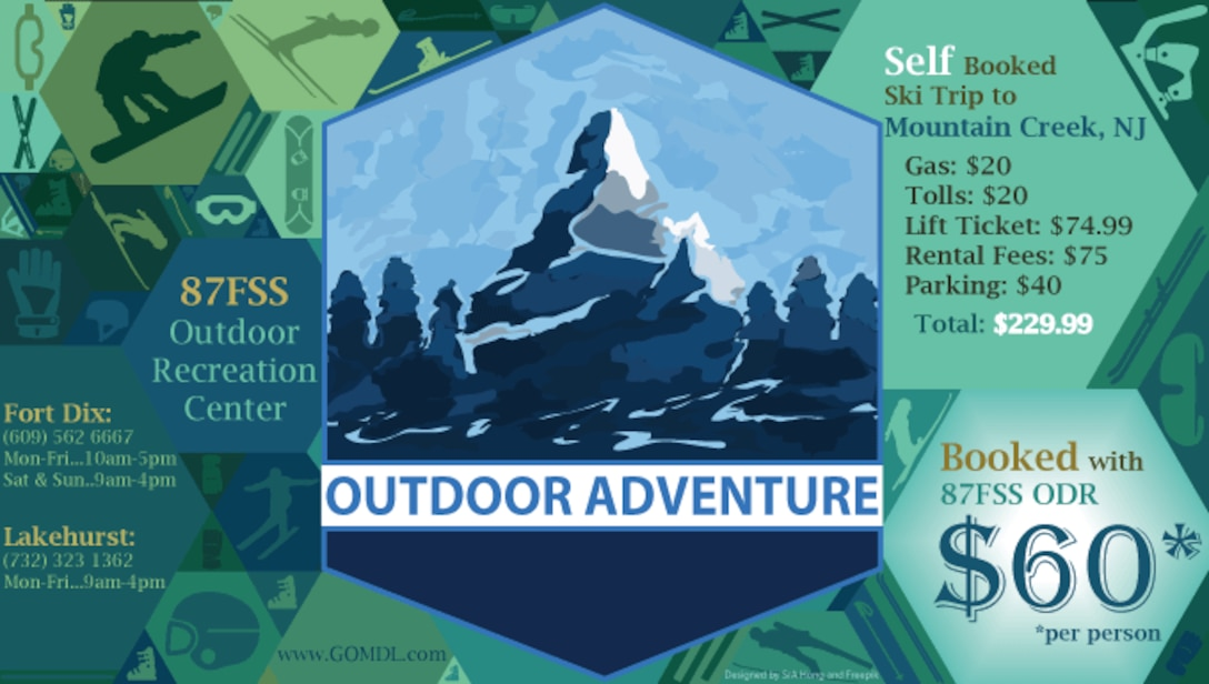 Great Deals at the Outdoor Recreation Center