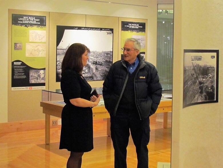 Central Michigan University's Soo Locks Exhibit