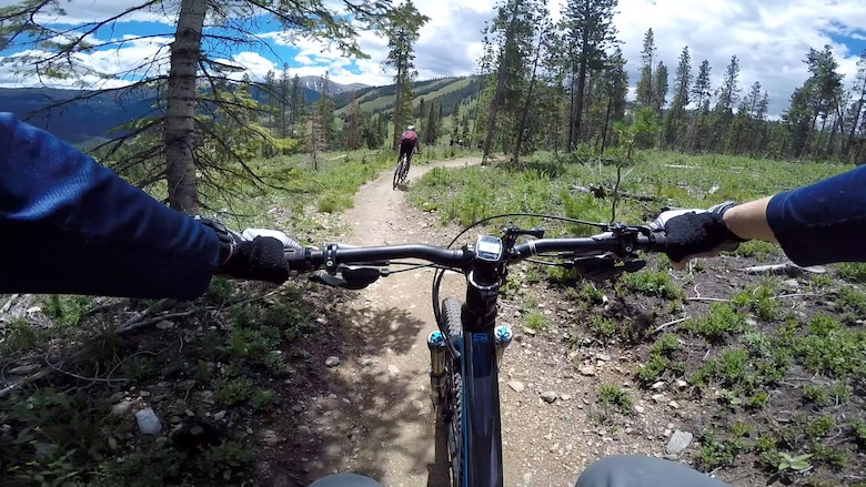 The outdoor recreation on Buckley Air Force Base, Colo., offers guided trips that are geared for relaxation, as well as adrenaline. They also provide the proper equipment for a safe and enjoyable outing. (Courtesy photo)