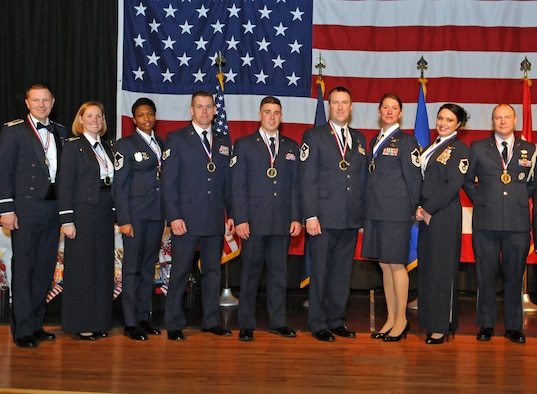 The Utah Air National Guard Recognized outstanding achievement during 2016 during the Airmen of the Year awards banquet held at the Utah Cultural Center in West Valley, Utah on Jan. 21, 2017.