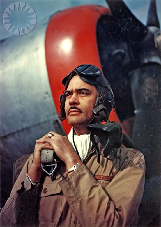 General Benjamin O. Davis, Jr. was the commander of the World War II Tuskegee Airmen. He is also known for being the first African-American general officer in the U.S. Air Force.