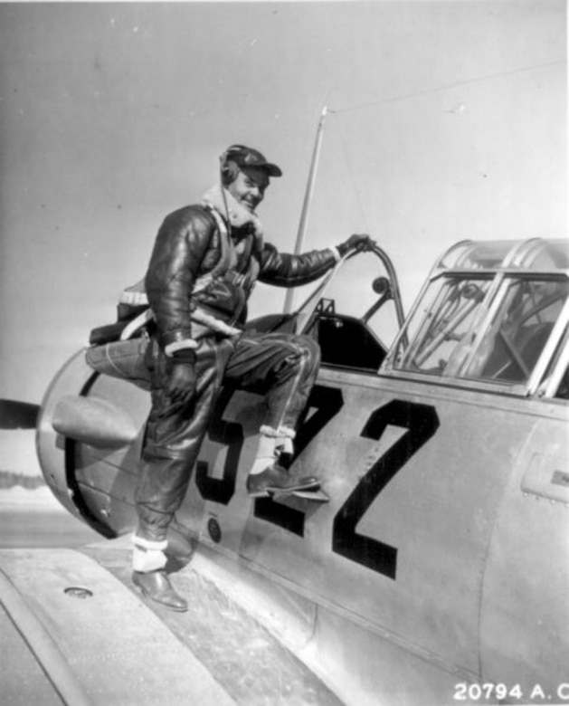 Benjamin O. Davis, an aviation pioneer and one of the most famous Tuskegee Airmen of World War II. (Air Force photo)