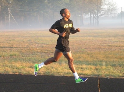 Army Reserve Pfc. Octaviace Drummond, from the 810th Quartermaster Battalion headquartered in Maineville, Ohio, 643rd Regional Support Group, 310th Sustainment Command (Expeditionary), competes in the Army Physicial Fitness Test as part of the 310th ESC 2017 Best Warrior Competition, held at Ft. A.P. Hill, Va., Feb. 23 - 28.  The annual six day competition tests enlisted Soldiers and noncommissioned officers in their ability to perform Army Warrior tasks in a variety of events leading to the 377th Theater Sustainment Command's competition, which is a feed to the U.S. Army Reserve Command Best Warrior. (U.S. Army photo by Spc. William J. Sanders)