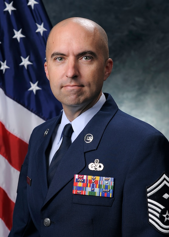 Senior Master Sgt. Allen Le Vie, 50th Operations Group first sergeant