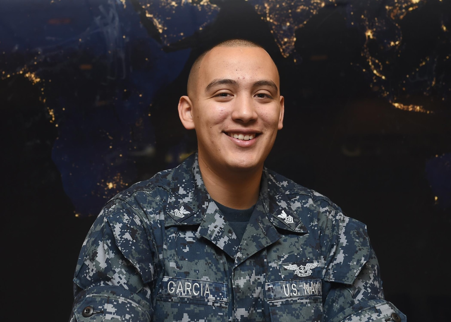 Petty Officer First Class (YN1) Danny Garcia, Enlisted Corps Spotlight for March 2017