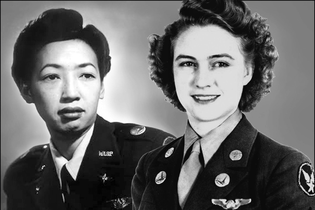 Hazel Ying Lee and Pfc. Emma Jane Windham Burrows