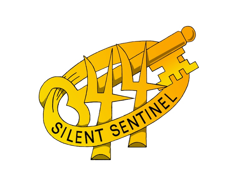 U.S. Army 344th Military Intelligence Battalion Silent Sentinel Key. (Courtesy Graphic)
