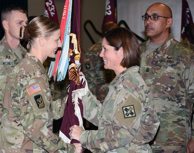 232nd medical battalion welcomes new command sergeant