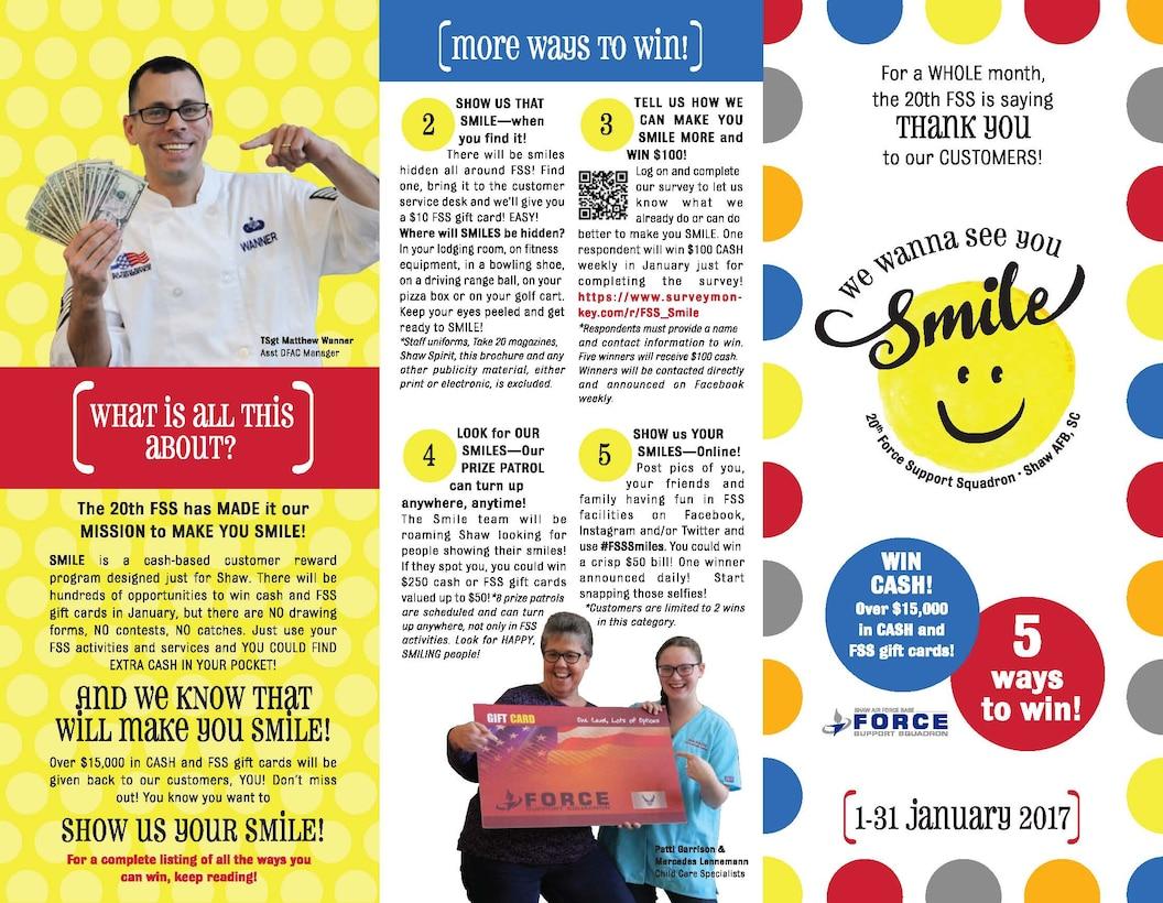 Smile Program Brochure page 1