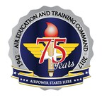 On January 23, 2017, Air Education and Training Command celebrates its 75th anniversary — a date much more important in our nation's heritage than a simple mark in time. January 23, 1942, proved to be the birth of a professional Air Force – men and women precisely selected and trained to fly, fight and win our nation's wars. (U.S. Air Force graphic by Michelle Deleon)