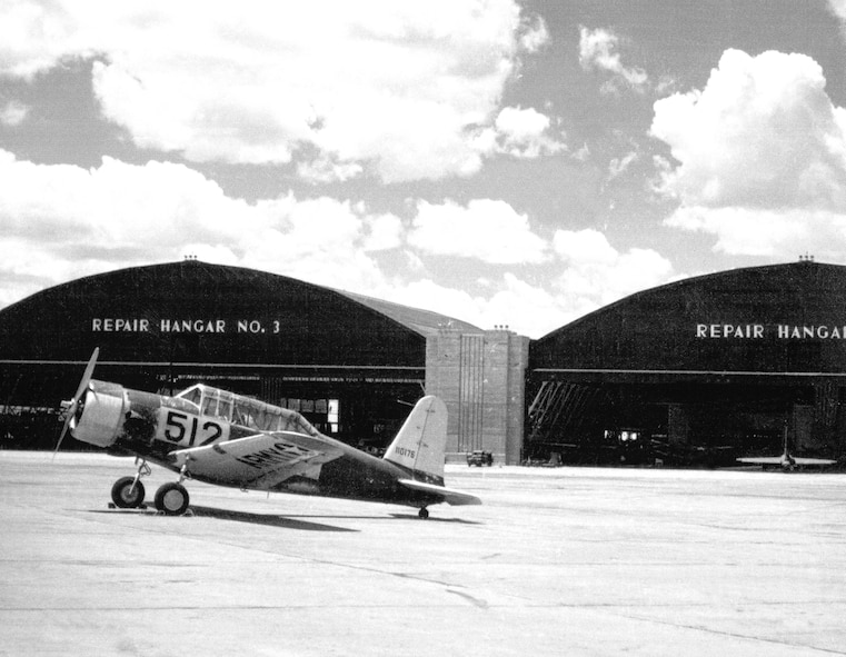 BT-13 at Tinker Air Force Base.