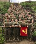 Truck Company, Headquarters Battalion, 1st Marine Division dominates field meet.