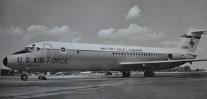 C-9 Nightingale, 1968-2003: In 1968, MAC activated a new 1400th Air Base Wing to take over host wing responsibility for Scott AFB. This allowed the 375th to focus more on its aeromedical airlift mission—a mission that was expanding through the addition of new medical transport aircraft, C-9A Nightingales. The new C-9A Nightingale was equipped with an assortment of important medical capabilities, but one of its most significant new features was its increased speed and range over existing medical transports.
