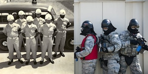 Evolving from the Air Police in the 1950's, the 375th Security Forces Squadron's mission has stayed the same: to provide security and law enforcement services to the Scott Air Force Base community while meeting worldwide mobility requirements.