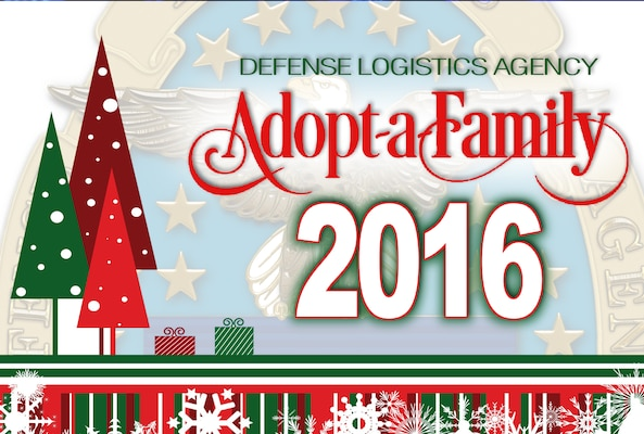 Through the DLA Adopt-a-Family Program, employees' generosity brightens children's holidays every year.