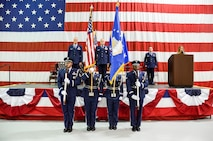 Brig. Gen. Steven Parker, commander of the 94th Airlift Wing and Dobbins Air Reserve Base, was promoted to the rank of brigadier general at a ceremony on base Jan. 6, 2017. Parker is the first one-star general to serve as the 94th AW commander since 2006. (U.S. Air Force photo / Tech. Sgt. Kelly Goonan)
