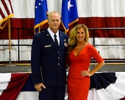 Col. Steven Parker, commander of the 94th Airlift Wing and Dobbins Air Reserve Base, was promoted to the rank of brigadier general at a ceremony on base Jan. 6, 2017. Parker will be the first one-star general to serve as wing commander at Dobbins since 2006. (U.S. Air Force photo / Tech. Sgt. Kelly Goonan)