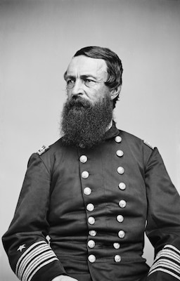 Rear Adm. David Dixon Porter commanded the Mississippi Squadron throughout the Vicksburg campaign. The naval forces under his command proved a key factor in Union victory at Vicksburg.