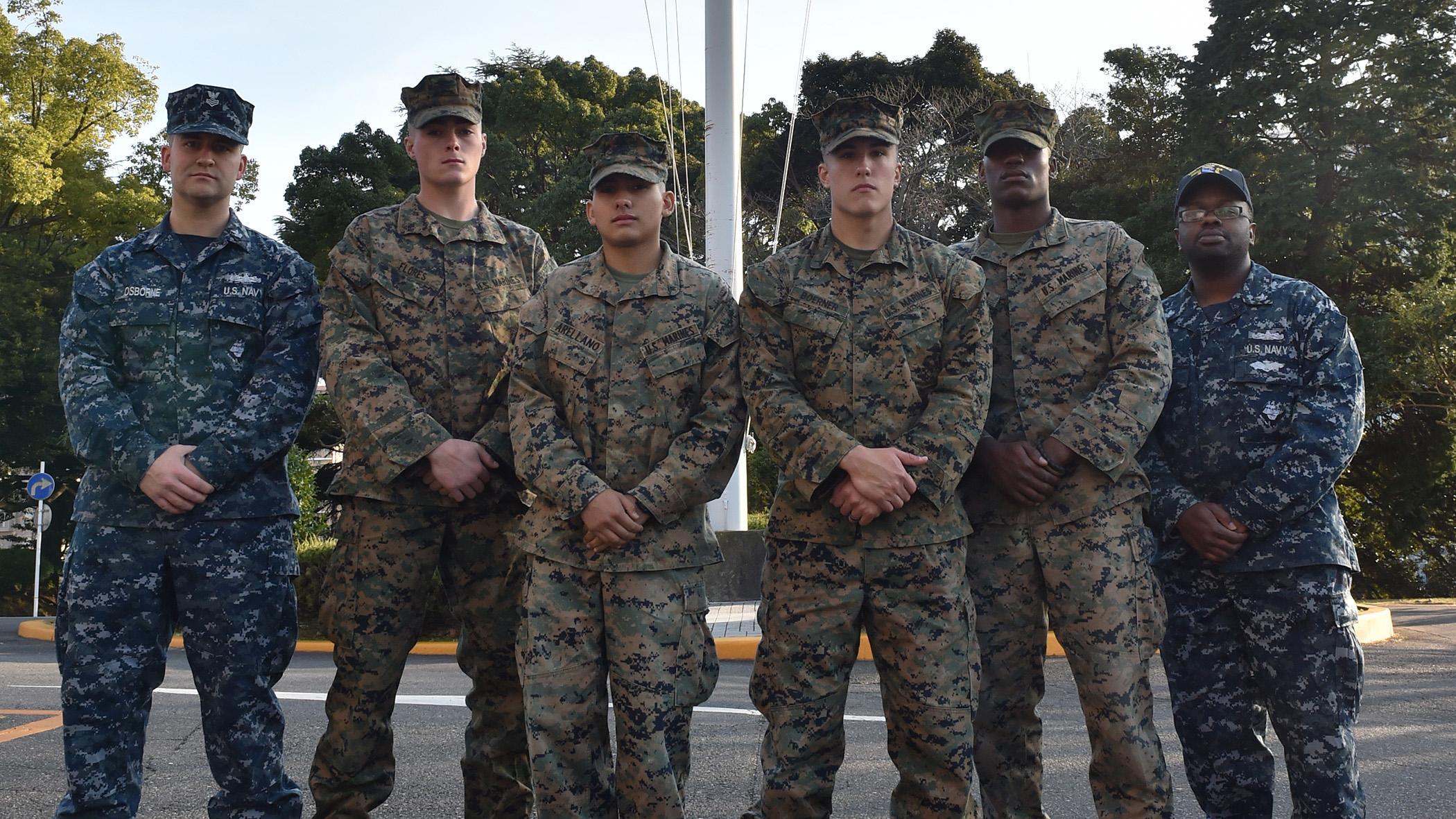 Marines rescue Japanese children during Tokyo tragedy ...
