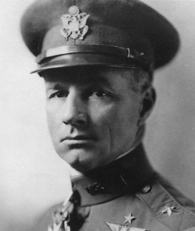 "Gen Mitchell is regarded as the ""Father of the United States Air Force,"" because he was instrumental in bringing to the forefront the need for air superiority. 
