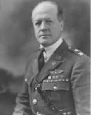 During Brig Gen Foulois' 56 years of active and retired military aviation service, he has accumulated a number of firsts such as   First flight as a dirigible pilot, 1908 First observer on an aircraft cross-country, 1909 First military man to teach himself to fly, 1910 First and only military test pilot flying Old No. 1 First to fly more than 100 miles non-stop, 1911 First on an operational reconnaissance flight First to test use of radio in flight First commander of a tactical air unit (1st Aero Squadron) First commander of the first mechanized tactical unit in the U.S. Army (1st Aero Squadron) First to use an aircraft in a combat operation (Mexico), 1916 First chief of Air Service, AEF, 1st Army, 1918 First chief of Air Corps to be a military aviator, 1931 First Air Corps chief to be awarded Mackay Trophy, 1933 First Honorary Staff Member of Air Force Systems Command, 1962 First honorary member of the Aerospace Primus Club, 1964  Brig. Gen. Benjamin Foulois was born in 1879 and died in 1967.