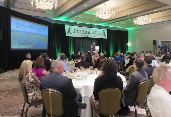 """I implore all of you to continue to advocate for, and continue to share the Everglades story.  A story of hope,"" said Assistant Secretary of the Army for Civil Works Jo-Ellen Darcy at the Everglades Coalition Conference Jan. 6 in Fort Myers, Fla."