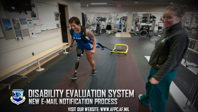 disability evaluation system rolls out new email notification