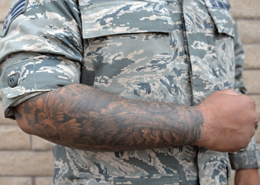 Photos for Army tattoo policy wrist
