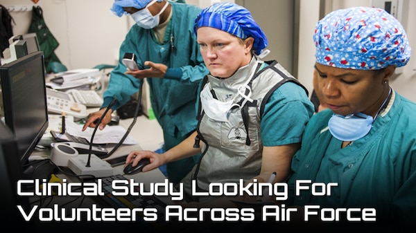 Clinical Study looking for Volunteers