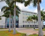 U.S. Southern Command's headquarters building in Miami, Florida. (SOUTHCOM Photo)