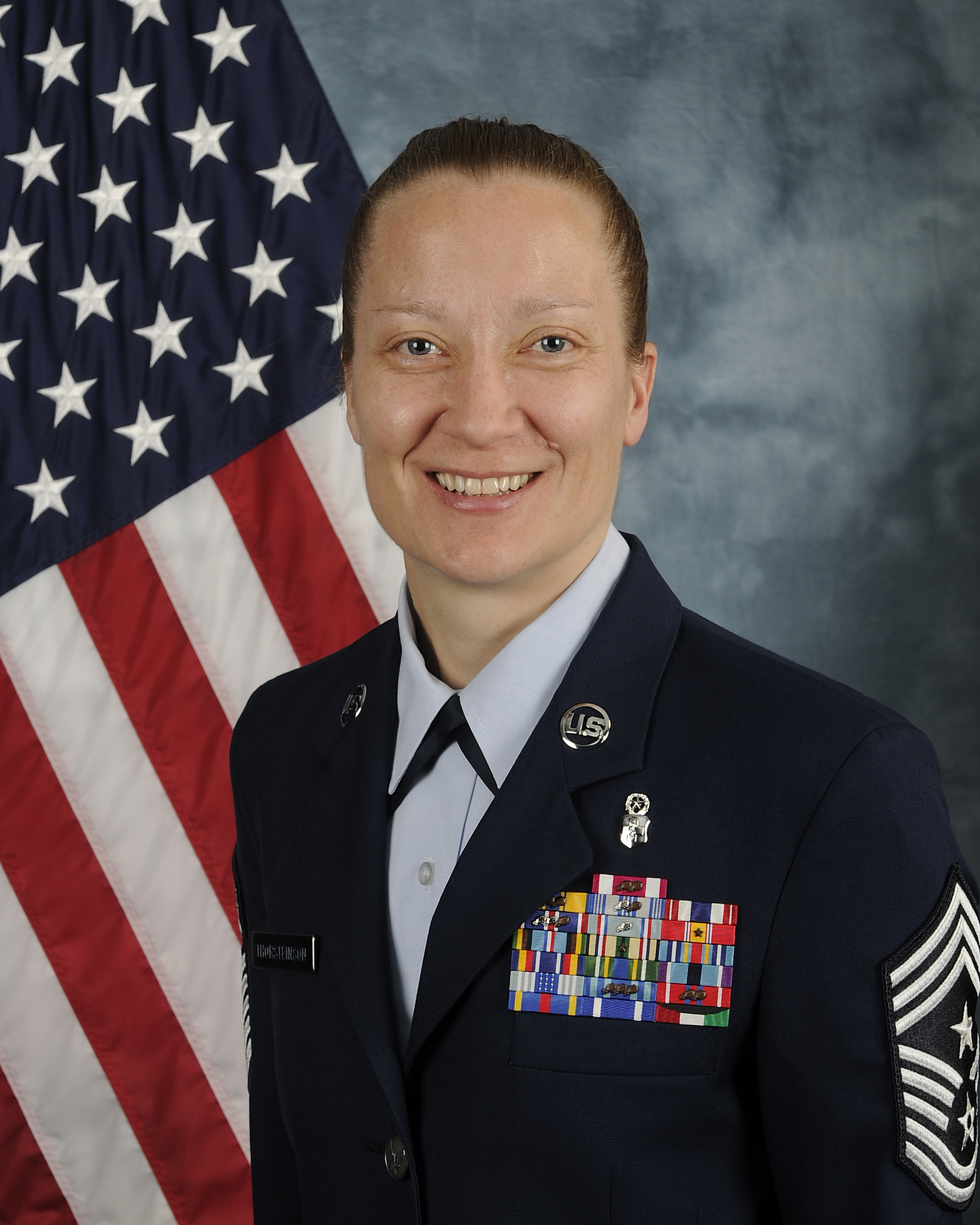 Chief Master Sergeant Michelle R. Thorsteinson-Richards