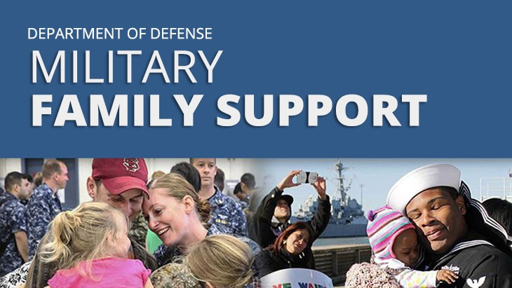 The Defense Department joins the nation in honoring the commitment, sacrifices and contributions families of service members make every day in support of the military and the nation.