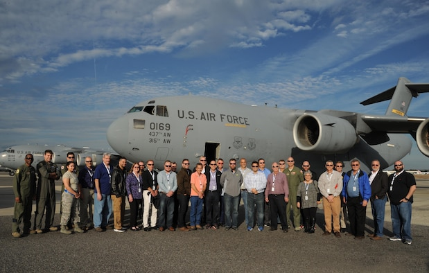 Nearly 30 civilian employers and civic leaders from the state of Florida visited Joint Base Charleston S.C., as part of the 927 ARW/ESGR bosslift, January 19-20, 2017. The overnight event allowed the civilians to visit three Air Force Reserve wings, and gain an understanding of life as a Citizen Airman. (U.S. Air Force photo by Tech Sgt. Peter Dean)