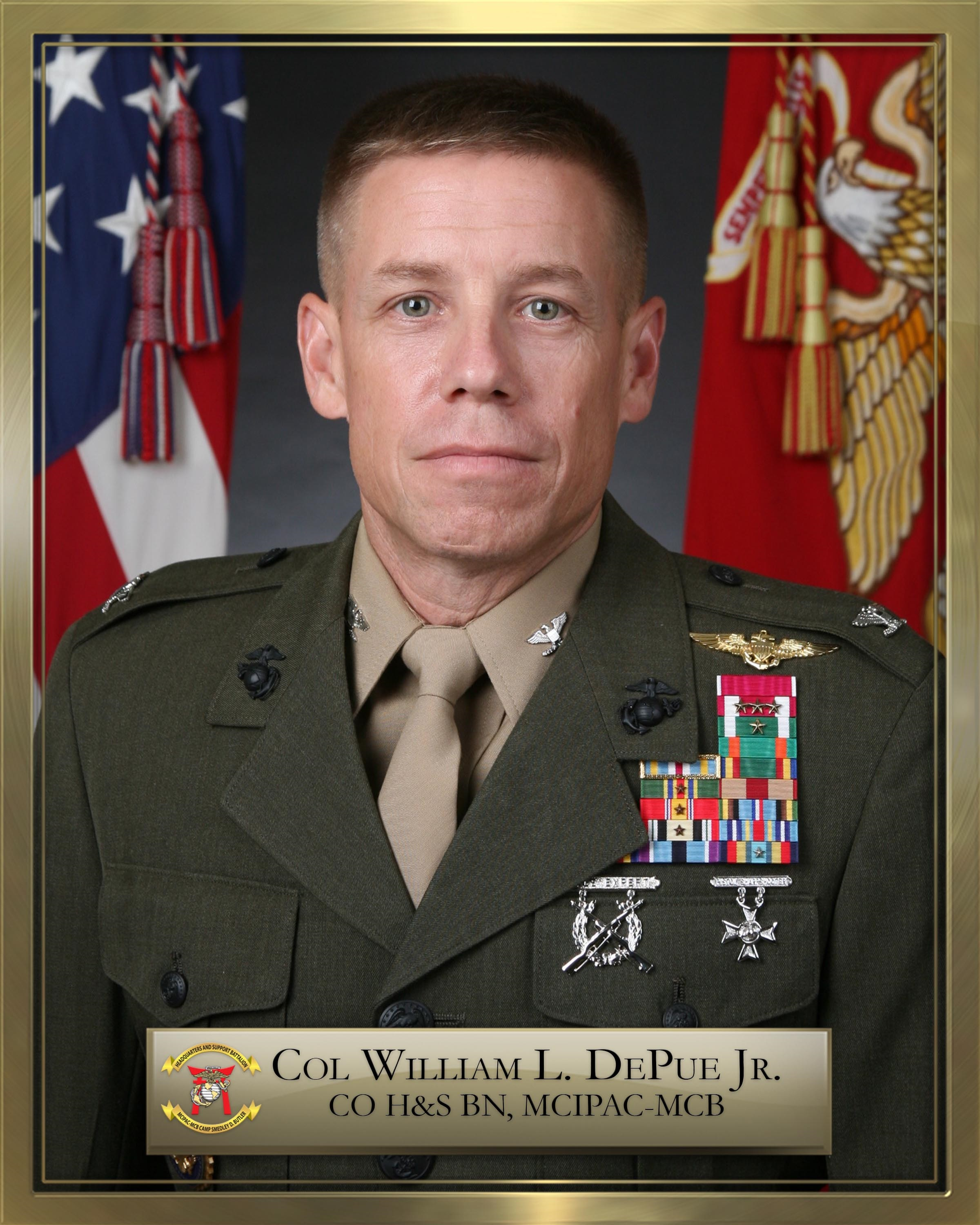 El Toro Marine Base >> Colonel William L. DePue > Marine Corps Base Camp Butler ...