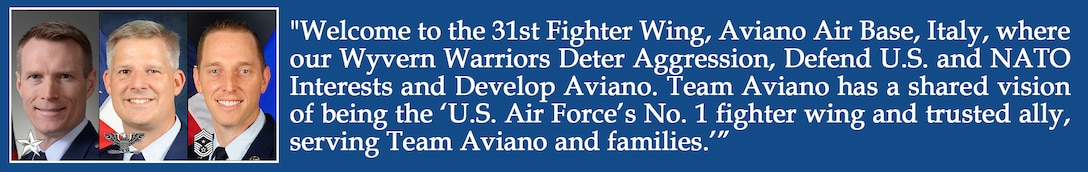 Aviano's Mission and Vision
