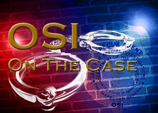 """This is the second in the series, """"OSI: On The Case,"""" highlighting the multi-faceted work of Special Agents as they pursue the command's mission: Defend the Nation, Serve Justice, Protect the Integrity of the Air Force and Find the Truth. (U.S. Air Force graphic/Albert Tubbs)"""
