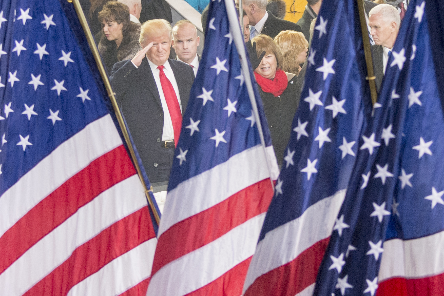 Salute the Flag