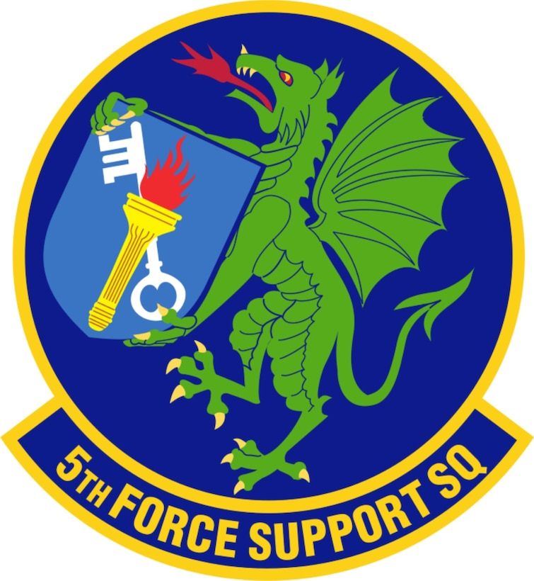 Servicing thousands of Airmen, families, civilians and contractors, the 5th Force Support Squadron plays an integral role in ensuring personnel at Minot Air Force Base are always taken care of. (Courtesy graphic)