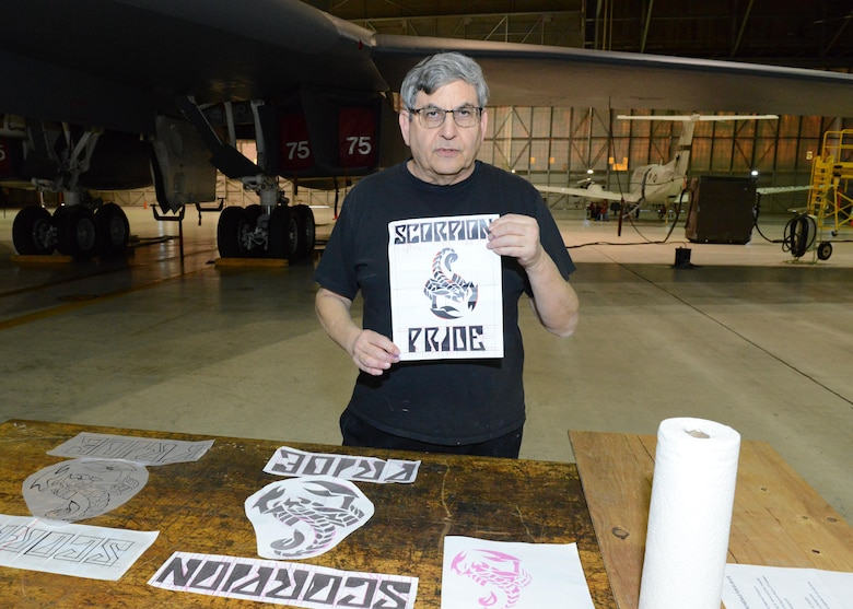 Mike Machat is a renowned aviation artist with dozens of paintings hanging on walls across Edwards Air Force Base and throughout the Air Force, or as nose art on aircraft. (U.S. Air Force photo by Kenji Thuloweit)