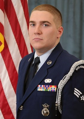 Sr. Airman Christopher Dorion, Honor Guard Manager of the Year