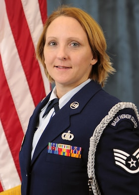 Staff Sgt. Marie Coar, Honor Guard Program Manager of the Year