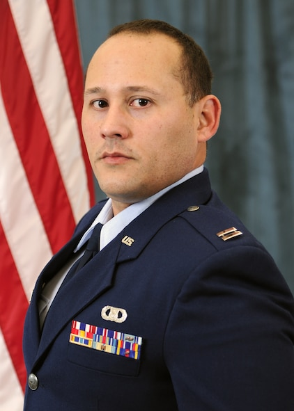 Capt. Christian Sanchez, Instructor of the Year (Officer)