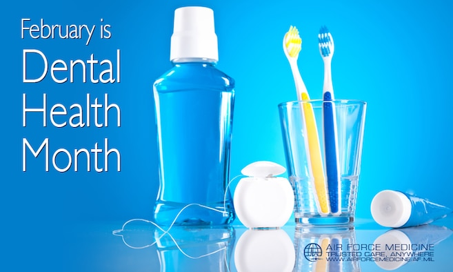 February is Dental health month