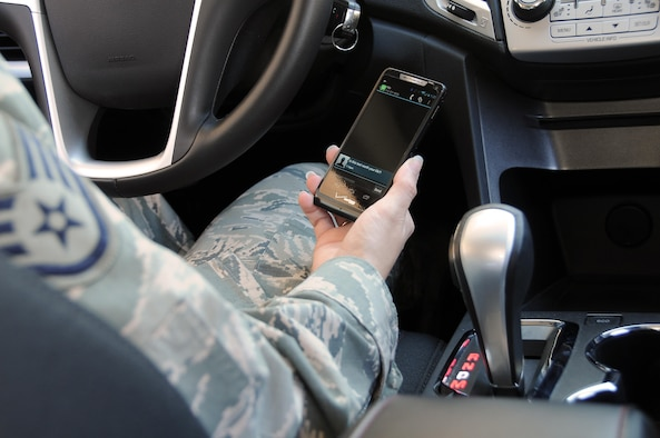 In 2013, police departments and insurance companies throughout the United States said the top cause of automobile accidents is distracted driving. While distracted driving laws vary from state to state, using personal electronic devices on any military installation is strictly forbidden by most members of the military. The facts about distracted driving have also proven that driving while distracted is never a good idea. (Illustrative Photo).(U. S. Air National Guard Photo By: MSgt Vincent De Groot)